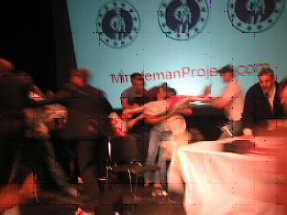 10/4: Students storm stage at Columbia University; Minuteman Project founder forced to flee