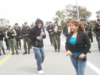 3/28 Watsonville, CA: Watsonville High Walk Out